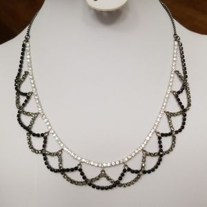 Jewelry - LACEY RHINESTONES COLLAR necklace